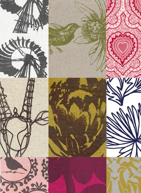 South African inspired fabrics from Design Team. LOVE their designs.