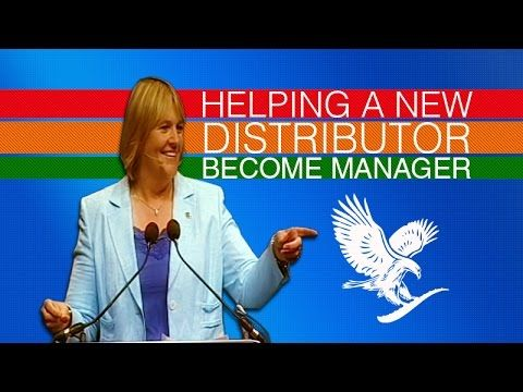 Helping A New Distributor Become Manager by Jayne Leach - YouTube