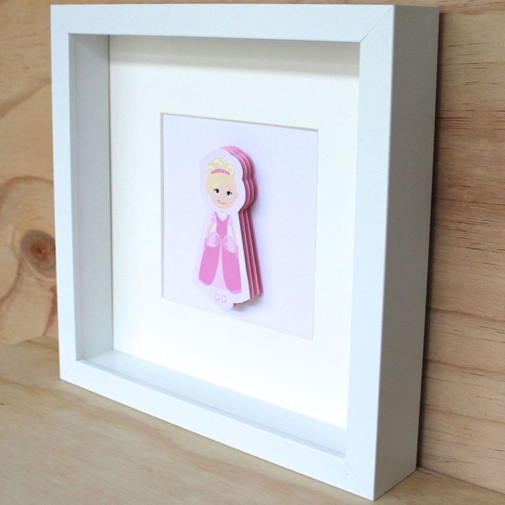 3D Princess Frame