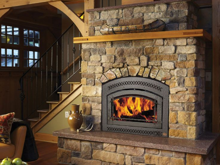 best 25 wood fireplace inserts ideas on pinterest