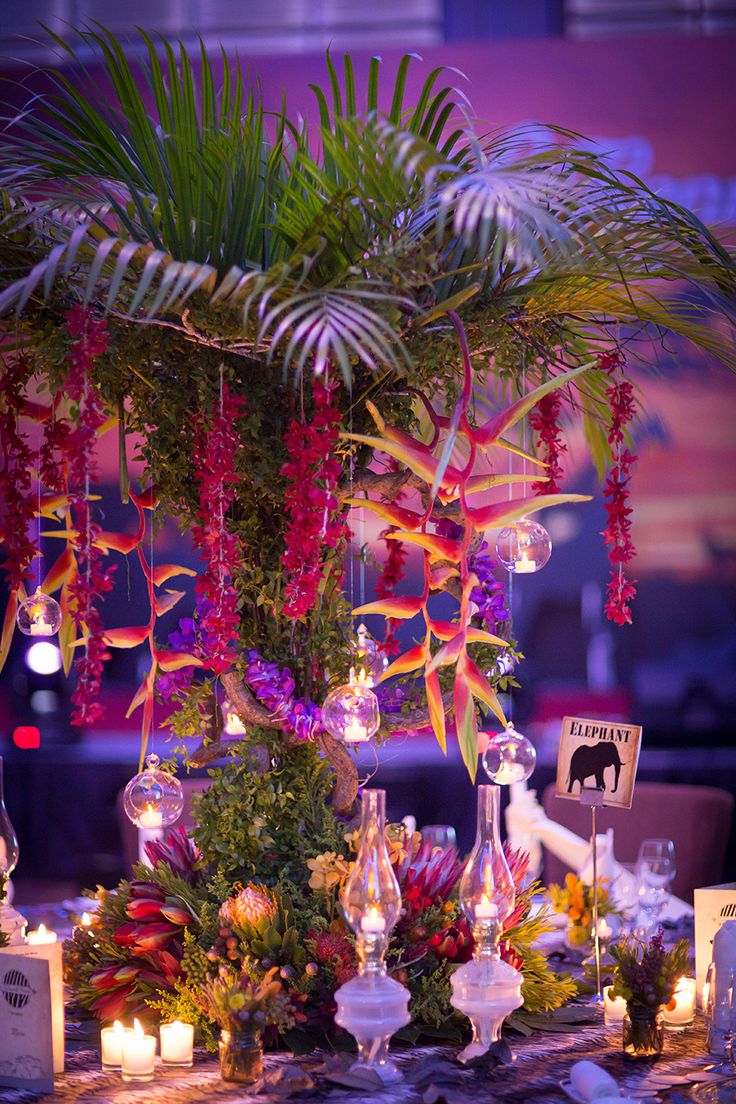 1150 best weddingfull tables images on pinterest marriage five questions with lily chew of wishing tree tropical wedding decortropical junglespirit Gallery