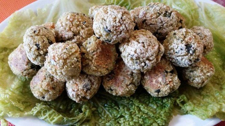 Polpette di  quinoa e verdure