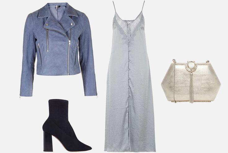 С чем носить платья-комбинации: 8 модных образов — Wonderzine