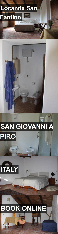 Hotel Locanda San Fantino in San Giovanni a Piro, Italy