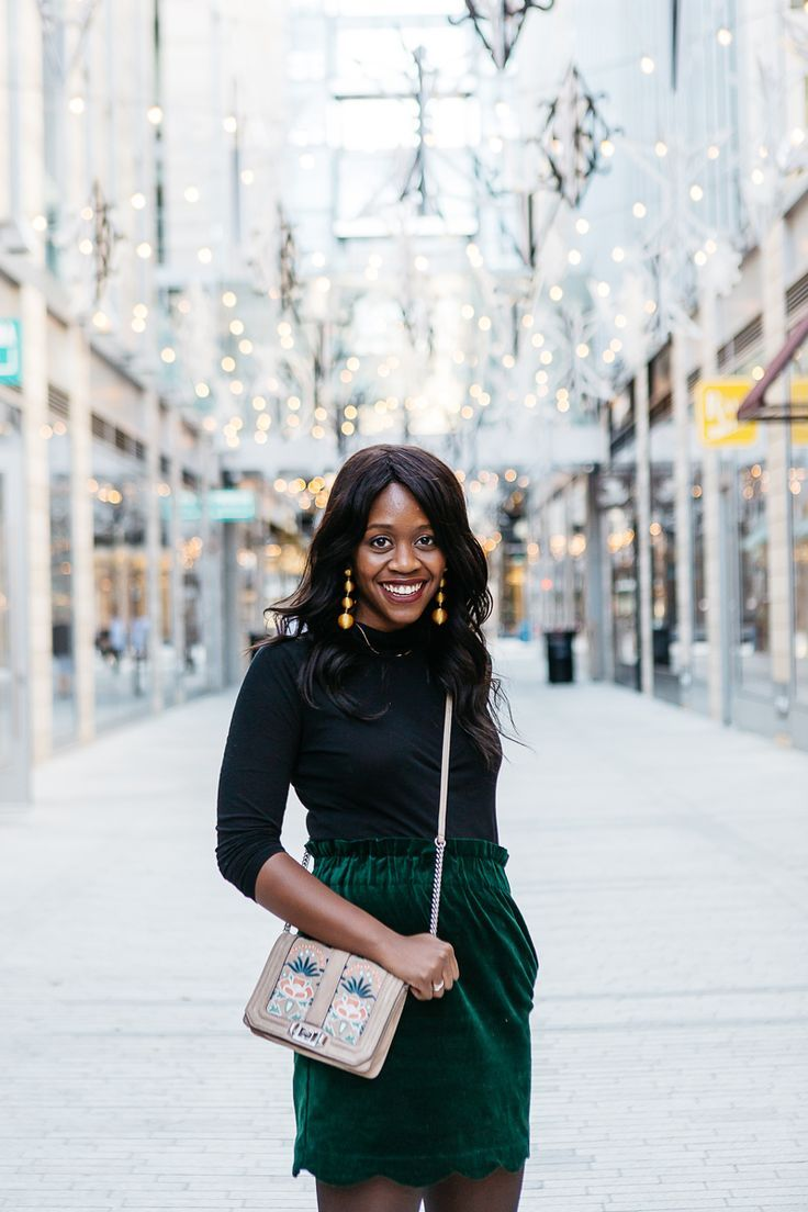 e195a67e68db Rebecca Minkoff Small Love Crossbody Bag - What to Wear to A Daytime Work Holiday  Party by Washington DC style blogger Alicia Tenise