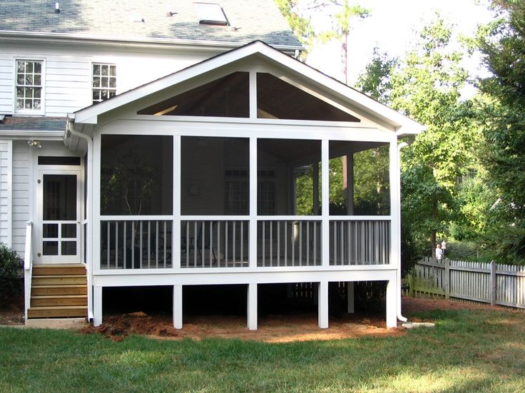 40 best screen porch images on pinterest screened for Screened in front porch