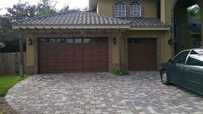 Everything I Create - Paint Garage Doors To Look Like Wood: Make A Garage Door Look Like Wood