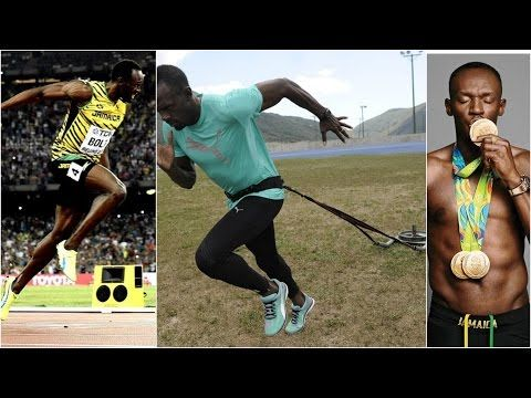 USAIN BOLT TRAINING 2017 - YouTube