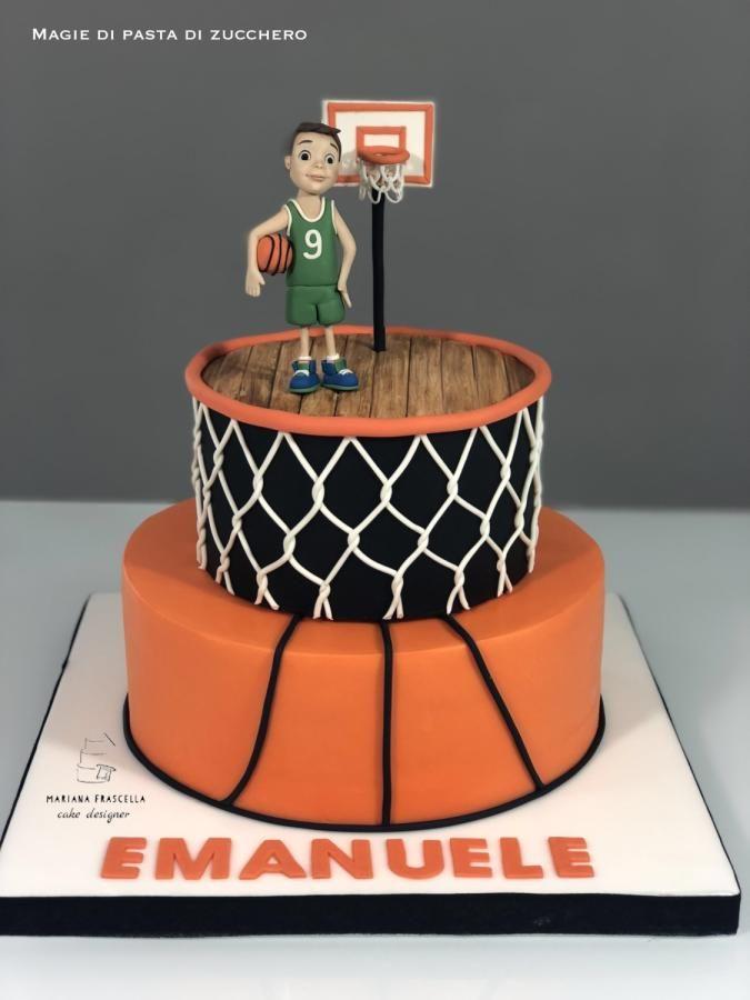 Basketball Cake By Mariana Frascella Boy Torte Pinterest Cake
