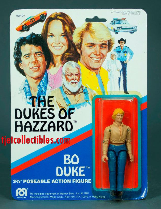 The Dukes of Hazzard Bo Duke Action Figure Mego 1981 #DukesofHazzard