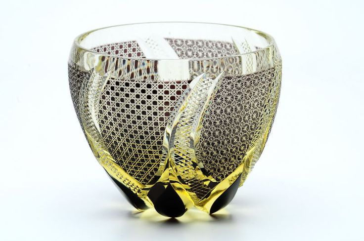 Edo kiriko - traditional glass ware