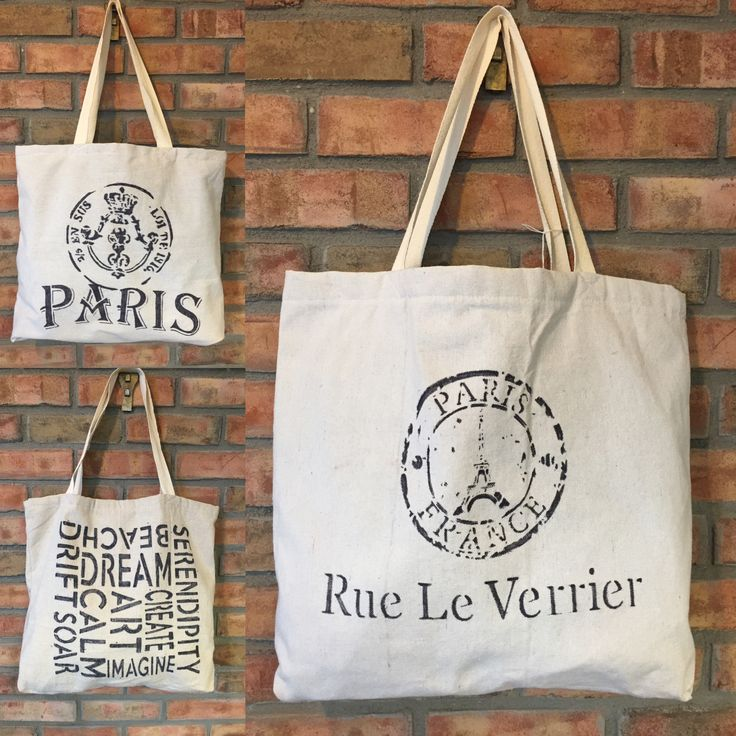 New handbags made in a soft supple canvas material that is lightweight and washable. All handmade we can even do a custom stencil for you if you have a favorite quote or picture. Contact us today!
