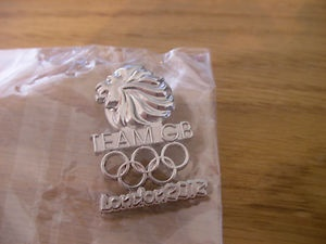 Team GB Pin Badge London 2012 Olympics NOC official logo dated Great Britain UK