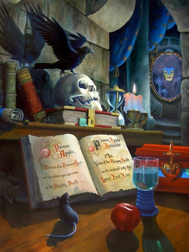 From Snow White; the Evil Queen Grimhilde's dungeon