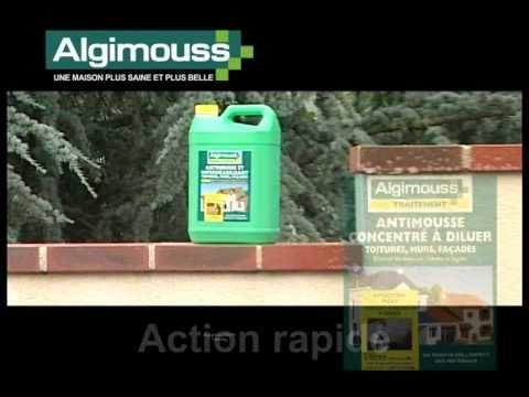 #Algimouss solution de #demoussage #toiture