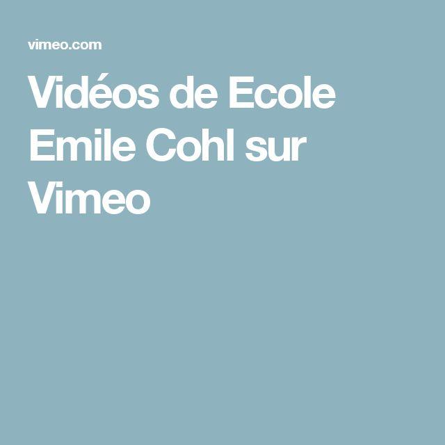 Vidéos de Ecole Emile Cohl sur Vimeo