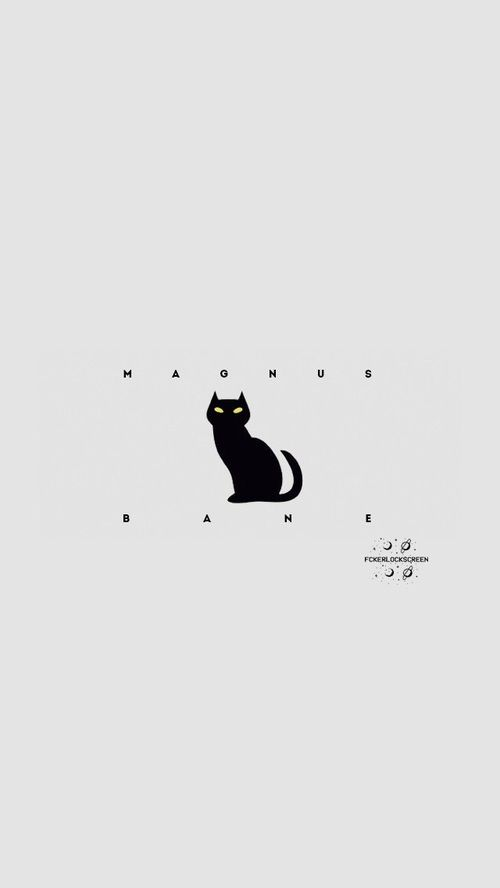 Wallpaper Magnus bane //Cazadores de sombras