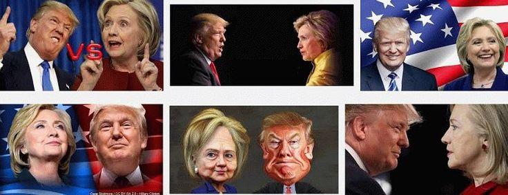 Выборы Президента США: Марафон Ночь с 08 на 09 ноября 2016 года Клинтон vs Трамп Трансляция   Free RuTube