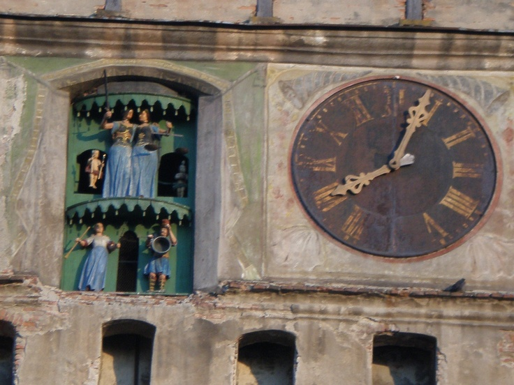 Sighisoara, Transylvania. Fortunately it's not twelve midnight yet.