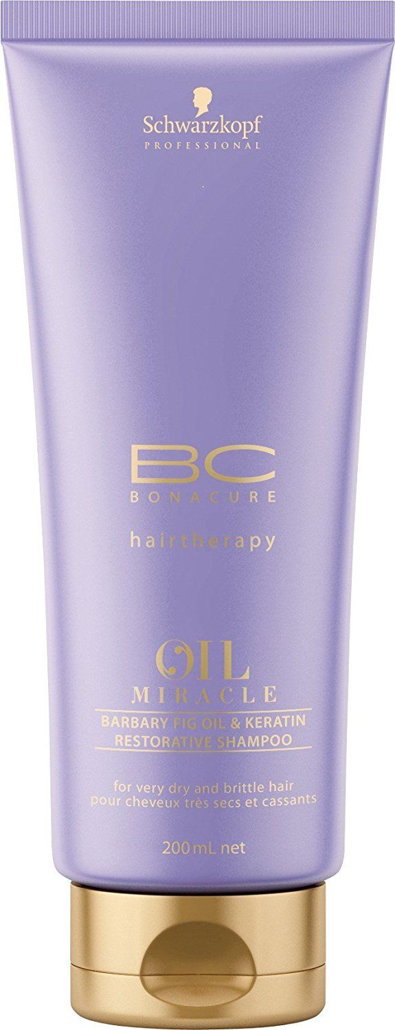 Schwarzkopf Professional BC Bonacure Oil Miracle Barbary Fig and Keratin Restorative Shampoo 200ml -- For more information, visit image link. #hairmake