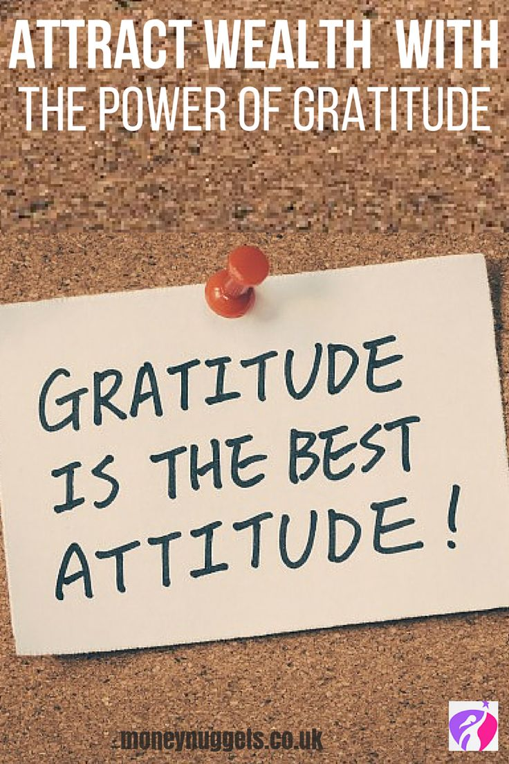 Gratitude leads to greater wealth. It's time to indulge our inner Oprah through the power of gratitude! Learn how to live with gratitude today.