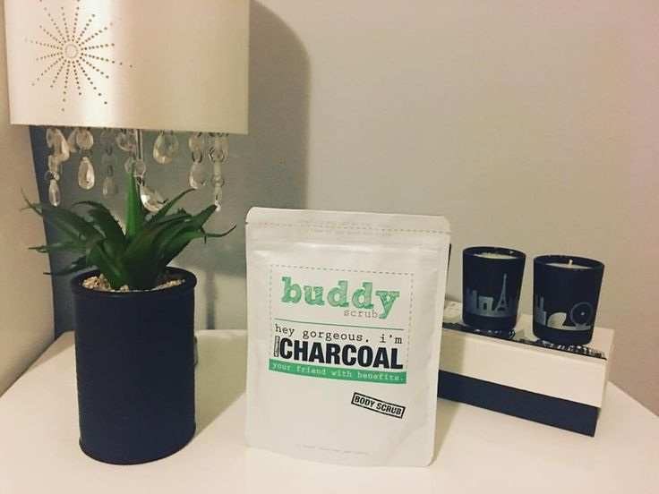 "41 Likes, 2 Comments - K & M (@kikandmikae) on Instagram: ""BUDDY CHARCOAL SCRUB 
