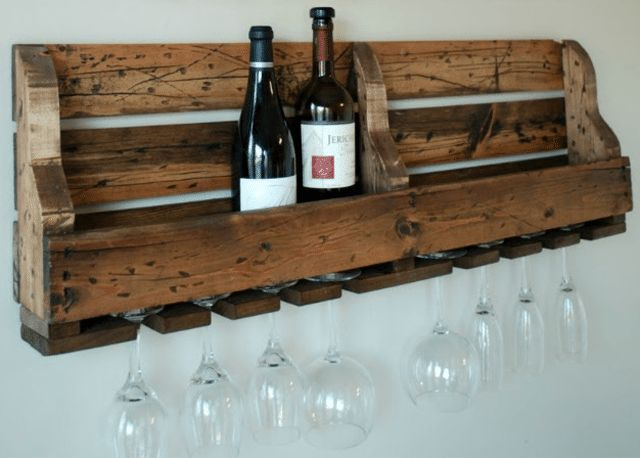 Use Wooden Pallets for Easy and Frugal Building Projects: The Kurtz Corner's Free Pallet Wine Rack Plan