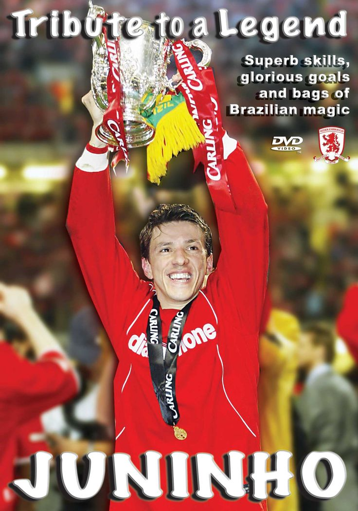 Juninho: Tribute to a Legend DVD £16.99 + p/p click for FREE preview  http://visionsport.co.uk/shop/middlesbrough/mbrj-dvd.html#