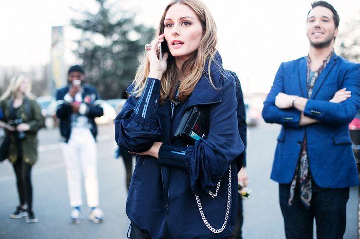 Street Style En Paris Fashion Week, Marzo 2015 © Soren