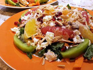 Club Foody Recipes and Videos: Winter Citrus Salad