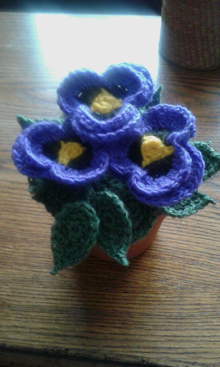 Pensamiento a crochet