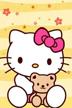 Hello Kitty Wallpapers   Free for iPhone and Galaxy from Lollimobile
