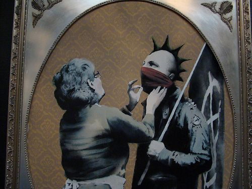 banksy artist or lawbreaker Original painting kay rutledge painting $  most people don&rsquot know that much about music they know that they like this artist or this album or this song,.
