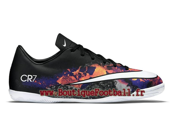 Nike Mercurial Victory V CR IC Black White Total Crimson 684851_018