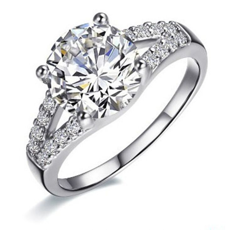 Superb Every one will be impressed by your stunning ct Lab Created Diamond Rings Cheap Halo Engagement Rings no matter how little it cost