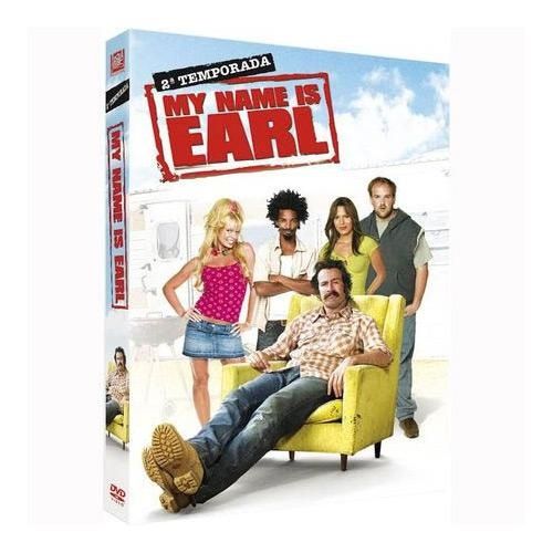 DVD My Name Is Earl – 2ª Temporada (4 DVDs) - http://batecabeca.com.br/dvd-my-name-is-earl-2a-temporada-4-dvdsshoptime.html