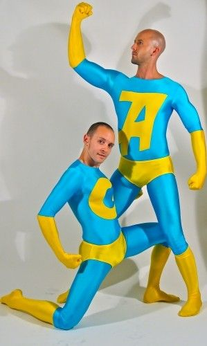 Ambiguously Gay Duo  Rocka  Costumes, Hero Costumes -7933