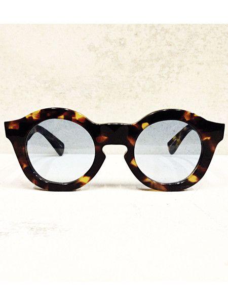 Sunglasses | Tortoise Brown Blue Lens