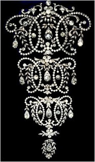 Queen Mary's Stomacher - made for Queen Mary in 1920