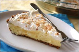 How is this possible Hungry Girl WW 4 pt Coconut Cream Pie!  I sub in Chocolate pudding and made it a Mounds flavor!