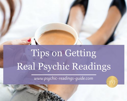 Oodles of real psychic readings goodness, including how to know you're getting a legit reading vs a fake one, and tips for free online readings.