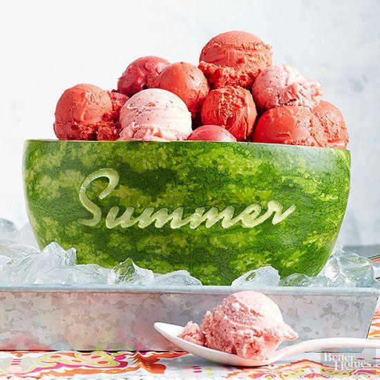june 2015 recipes watermelon sorbet sorbet and recipes. Black Bedroom Furniture Sets. Home Design Ideas