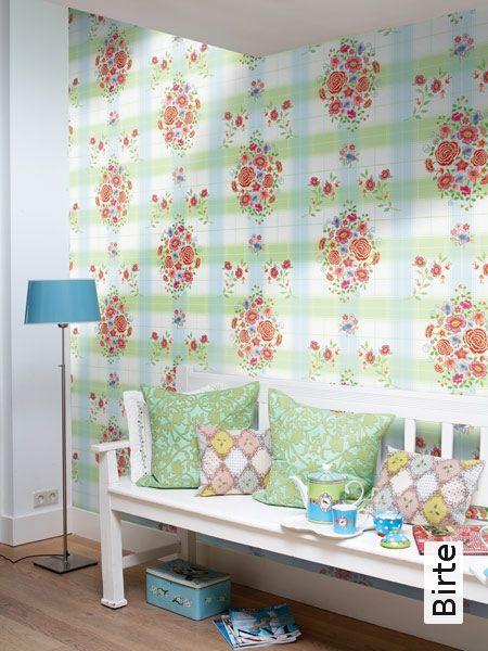 16 besten Tapeten Bilder auf Pinterest Tapeten, Blau grün und Kaufen - wohnzimmer tapete grun