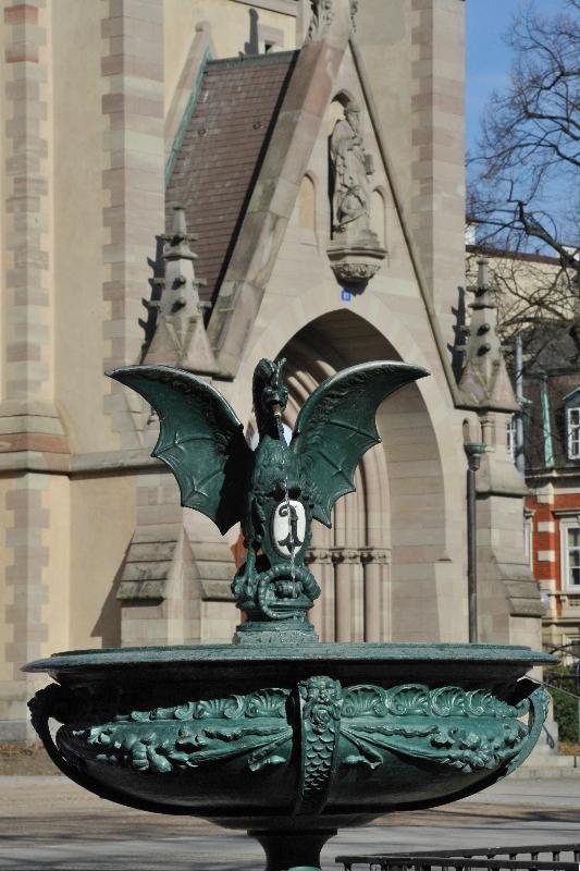 Basel, Basilisken-Brunnen