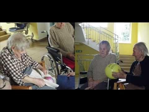 Motogeragogik im Alten- und Pflegeheim - YouTube