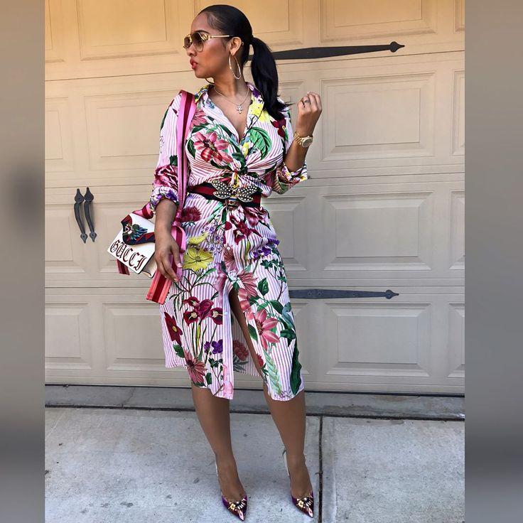 "116K 次赞、 1,132 条评论 - Tammy Rivera Malphurs (@charliesangelll) 在 Instagram 发布:""#SwipeLeft.. Dress: Zara, Belt: Gucci, Bag: Gucci runway, Shoes: Christian Louboutin, shades: Linda…"""