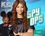 Em Agente K.C. Spy Ops, você tem que ajudar K.C. e J.U.D.Y fazerem um reconhecimento de pré missão sondando os lugares antes que a família continue suas missões de espionagem. K.C. deve identificar os principais alvos das missões tais como dispositivos, câmeras, suspeitos, objetos de valor e muito mais. Divirta-se com Agente K.C.!