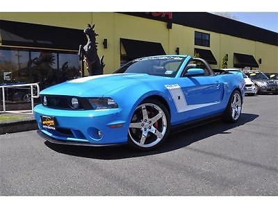 2010 Ford Mustang ROUSH 427R Manual Convertible GRABBER BLUE