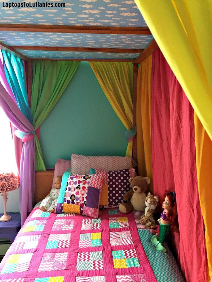 rainbow-canopy-bed-2.jpg 1.200×1.600 Pixel