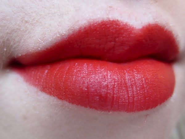 Revlon Really Red Lipstick- matte...could this work for me? reds always turn fuschia on me... :(